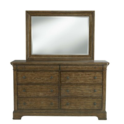 Tahoe 8 Drawer Dresser with Mirror