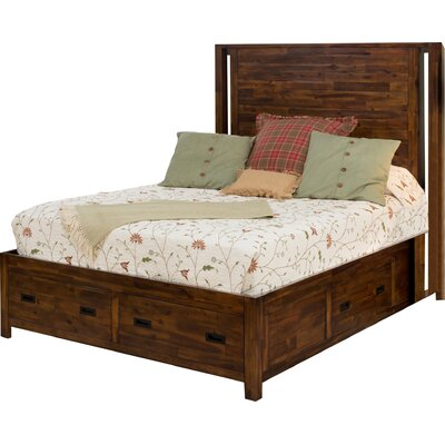 Oilton Storage Platform Bed Size: King