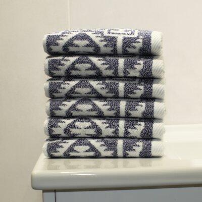 Blanca Wash Cloth Color: Ocean Blue