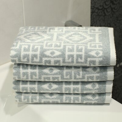 Blanca Hand Towel Color: Soft Aqua