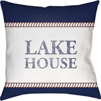 Dove Valley Indoor/Outdoor Throw Pillow Size: 18 H x 18 W x 4 D