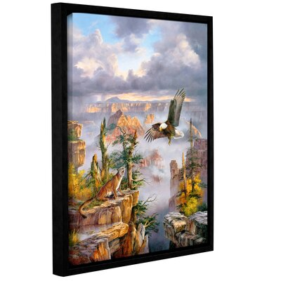 Territorial Crossing Framed Painting Print Size: 24