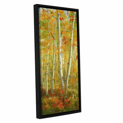 Tranquil Meadow 1 Framed Painting Print Size: 36