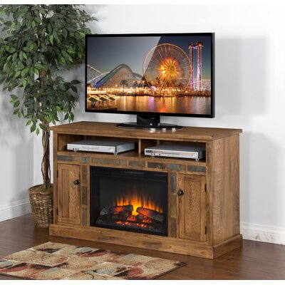 Fresno  54 TV Stand with Fireplace