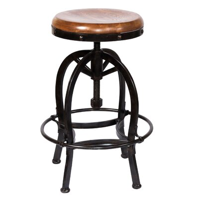 Fresno Adjustable Height Bar Stool