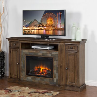 Birney 72 TV Stand with Fireplace