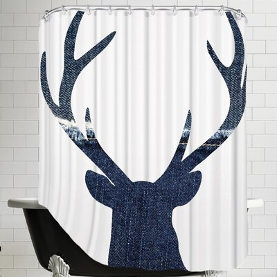 Pilchuck Deer 1 Shower Curtain