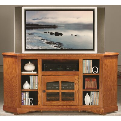 Glastonbury 63.5 TV Stand Color: Medium Oak
