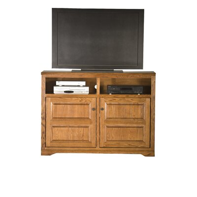 Glastonbury 55 TV Stand Color: Medium Oak
