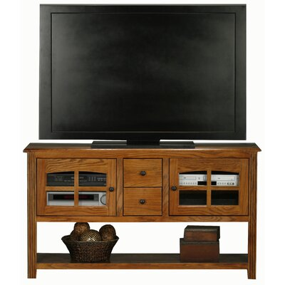 Glastonbury 57 TV Stand Color: Medium Oak