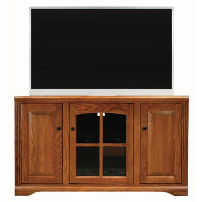 Glastonbury 55 TV Stand Color: Dark Oak