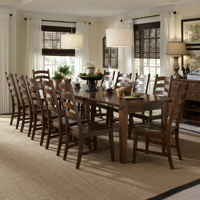 Birchley Ladderback Solid Wood Dining Chair (Set of 2)