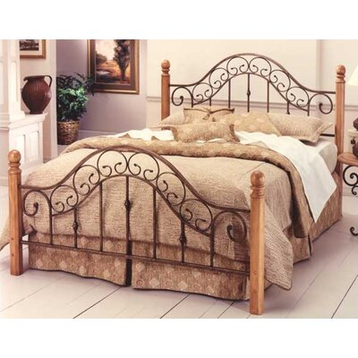 Coal Creek Panel Bed Size: King