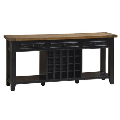 Harris Sideboard Finish: Black