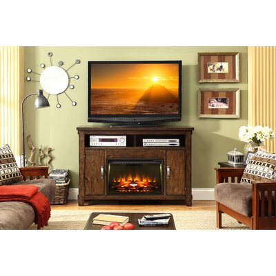 Camas 56 TV Stand with Fireplace