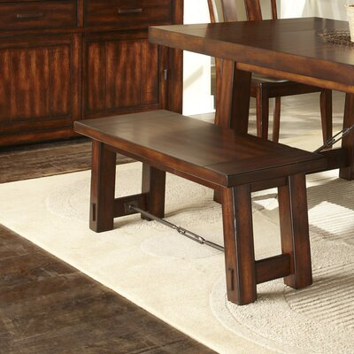 Furniture-Loon Peak Haloke Wood Kitchen Bench