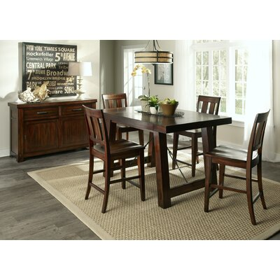 Haloke Counter Height Extendable Dining Table
