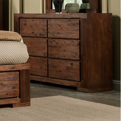 Creston 6 Drawer Double Dresser