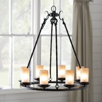 Rowan 8-Light Shaded Chandelier