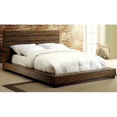Elliston Platform Bed Size: California King