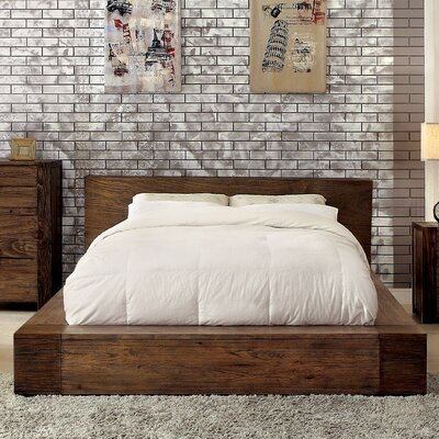 Elliston Platform Bed Size: California King