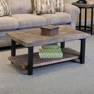Somers 42 Wood/Metal Coffee Table