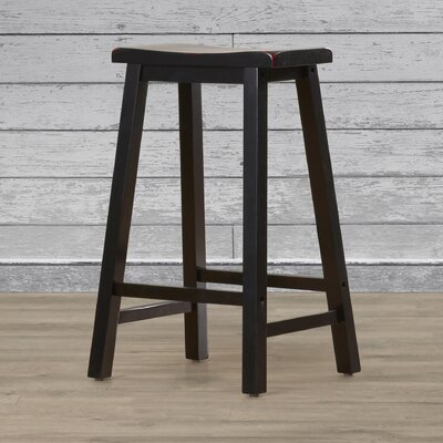 Lunenburg 29 Bar Stool Finish: Antique Black