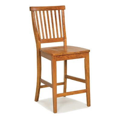 Parkerton 24 Bar Stool Frame Finish: Cottage Oak