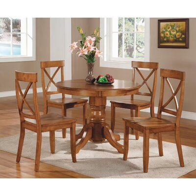 Parkerton Pedestal Dining Table Finish: Cottage Oak