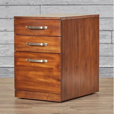 Loon Peak Auke 3 Drawer File Cabinet