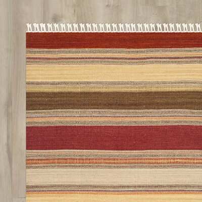 Northeast Pueblo Hand-Woven Area Rug Rug Size: Square 7