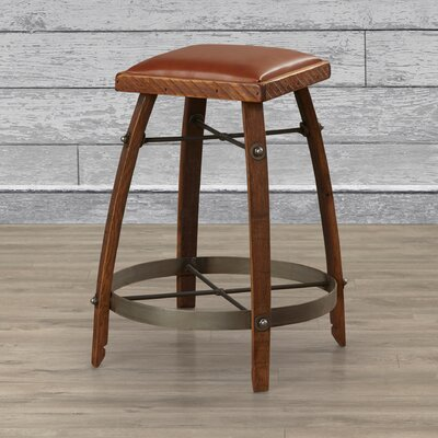 Gardiner 24 Bar Stool Upholstery: Tan