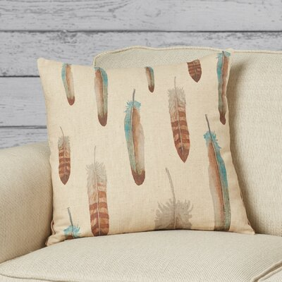 Huerfano Linen Throw Pillow