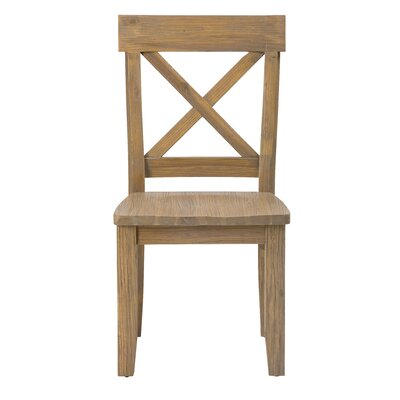 Pittson Estates Ridge Solid Wood Dining Chair (Set of 2)