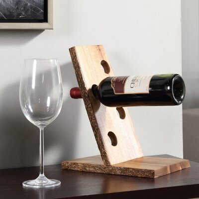 Haleakal 4 Bottle Tabletop Wine Rack