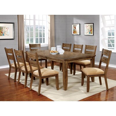 City of Creede 9 Piece Dining Set
