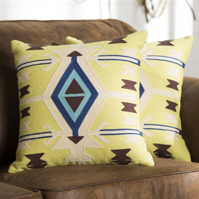 Piute Wool Throw Pillow