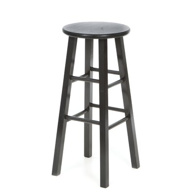 Chouteau 29 Bar Stool Finish: Black