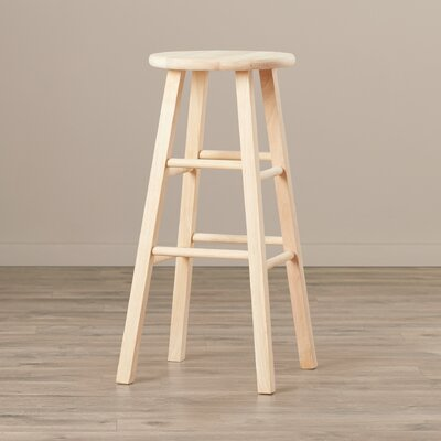 Chouteau 29 Bar Stool Finish: Unfinished