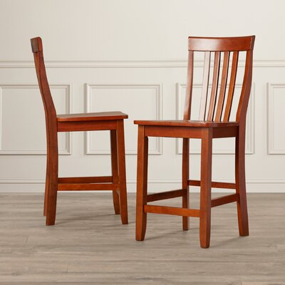 Beckman 24 Bar Stools Finish: Classic Cherry