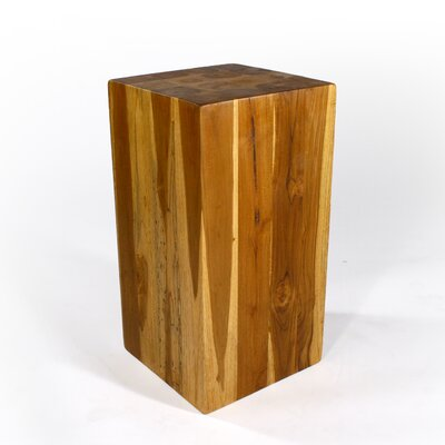 Goosenest End Table Size: 23 H x 12 W x 12 D