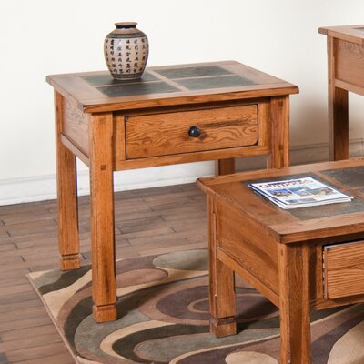 Fresno End Table Size: 28 H x 28 W x 28 D