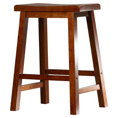 Forsyth 24 Bar Stool Finish: Honey Brown