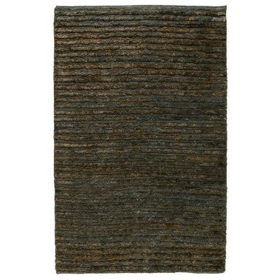 Marion Hand-Woven Ombry Blue/Brown Area Rug Rug Size: 9 x 12
