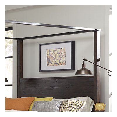 Crater Ridge Canopy Bed Size: California King