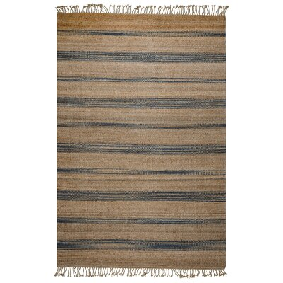 Highwood Hand-Woven Natural Area Rug Size: 5 x 8