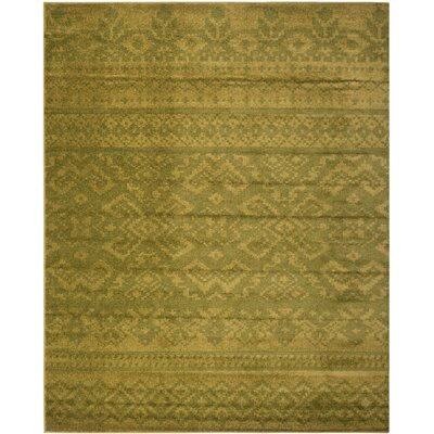 St. Ann Highlands Green Area Rug Rug Size: 9 x 12