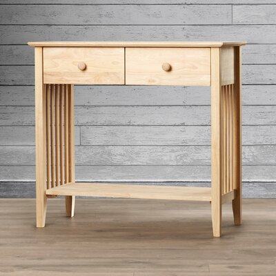 Sutherland Wood Console Table