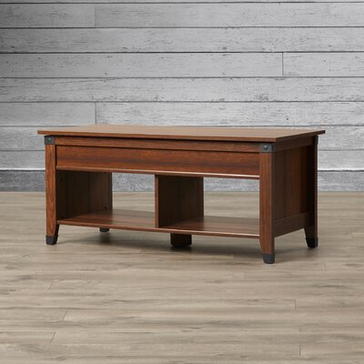 Newdale Coffee Table with Lift Top Finish: Washington Cherry