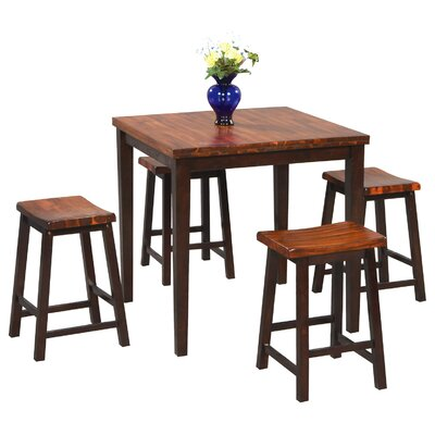 Holly 5 Piece Counter Height Dining Set
